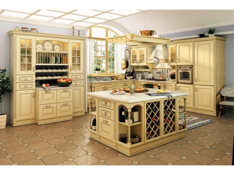 Кухня Венеция светлая