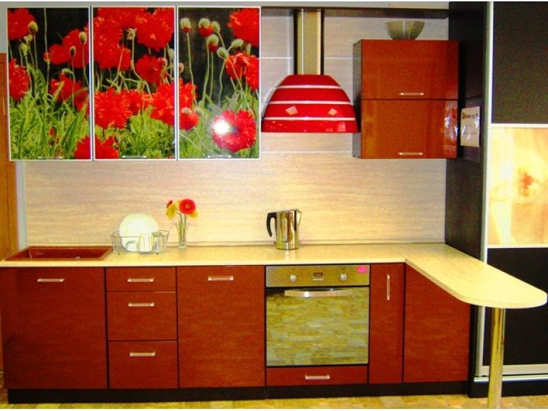 кухня прямая Золушка МДФ