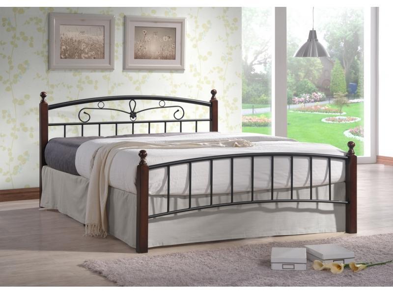 Двухспальная металлическая кровать NV999