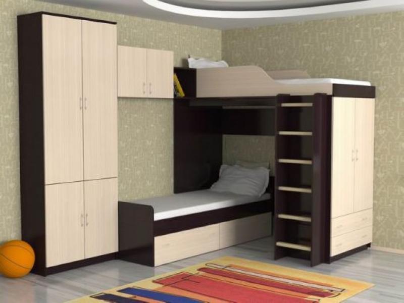 Кровать детская Дуэт 10