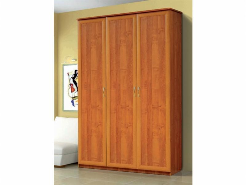 Шкаф для платья и белья 3-х створчатый