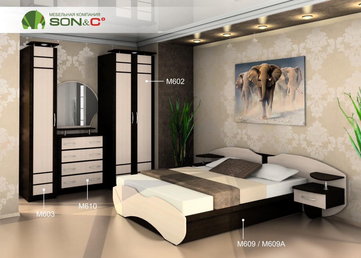 Спальный гарнитур «Марго»