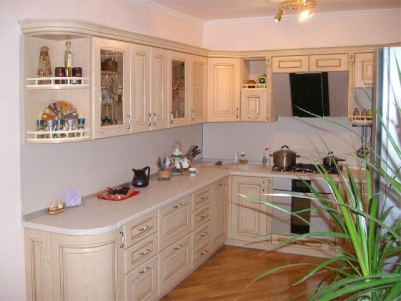 Кухонный гарнитур угловой Позитано