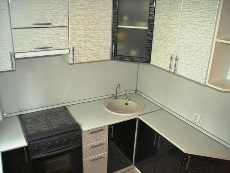 Кухонный гарнитур угловой Юнона 2