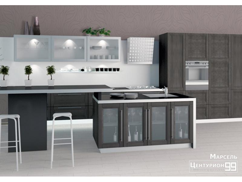 Кухонный гарнитур прямой Марсель
