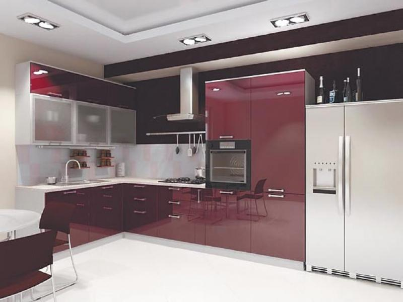 Кухня угловая «Бордо»