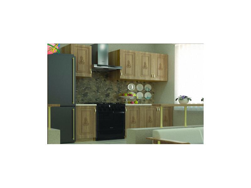Кухонный гарнитур прямой Фредерика