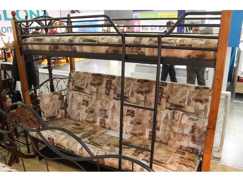 Мебельная выставка Москва: двухъярусная диван кровать