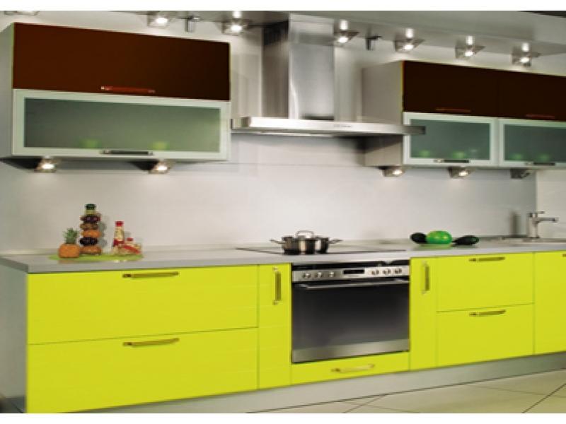 Кухня прямая Хай тек 1