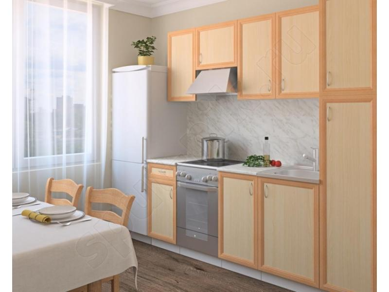 Кухонный гарнитур прямой Рамка