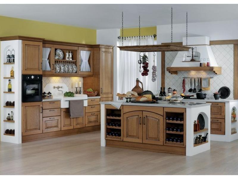 Кухня прямая «Кастеллана»
