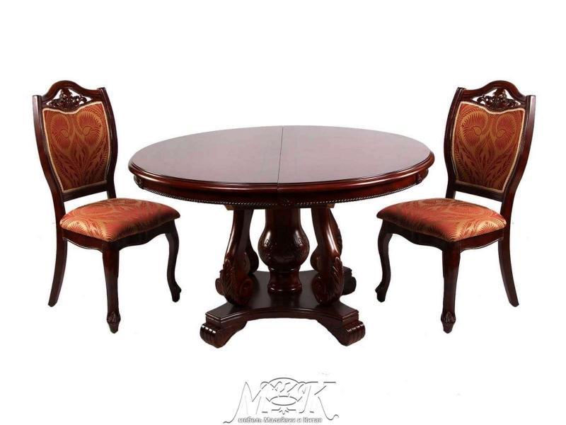 Стол обеденный D 2810 коричневый