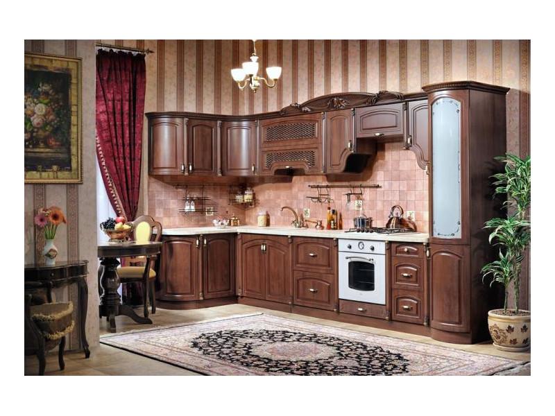 Кухонный гарнитур угловой Марлен