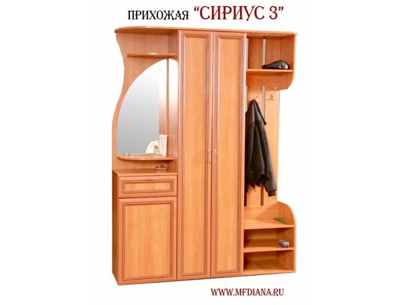 """Мебельная фабрика """"диана"""", г. омск / прихожая сириус 3."""