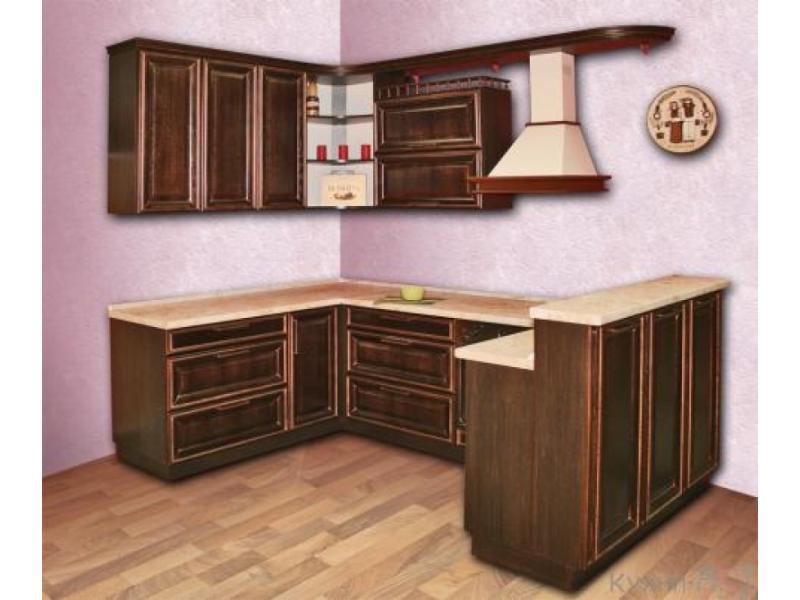 Кухонный гарнитур угловой Палермо