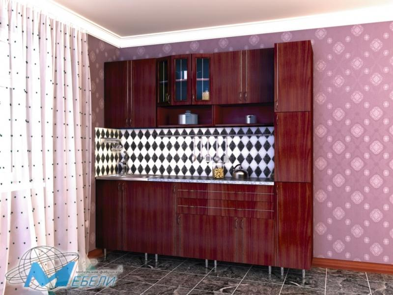 кухня прямая «Виктория 3»