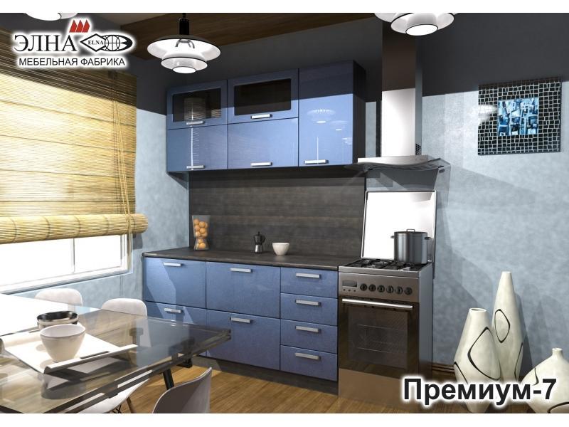 Кухня прямая Премиум 7