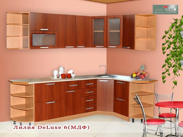 Кухня Лилия DeLuxe 6