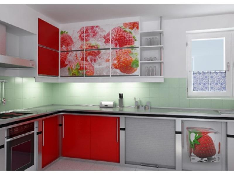 Кухня угловая Хай тек 3