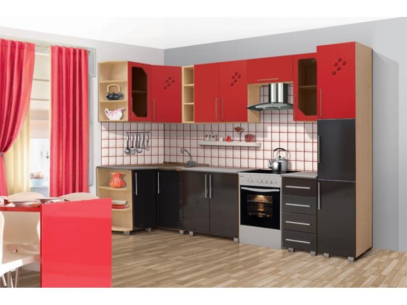 Кухонный гарнитур угловой Виноградная лоза