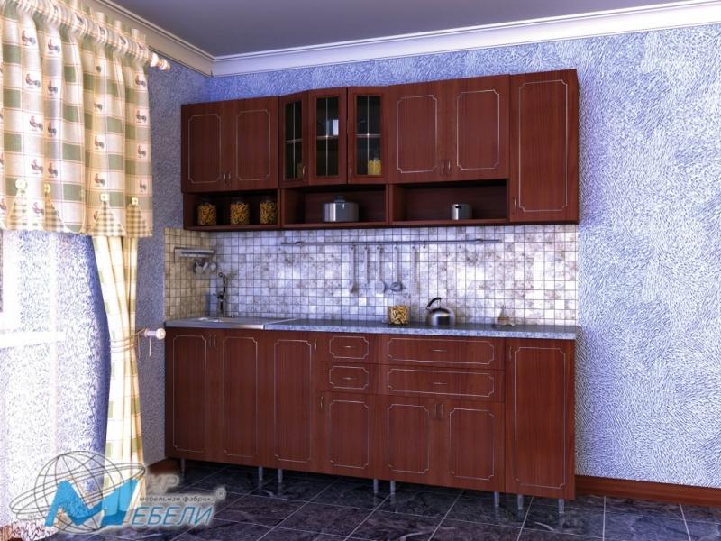 кухня прямая «Глория 1»
