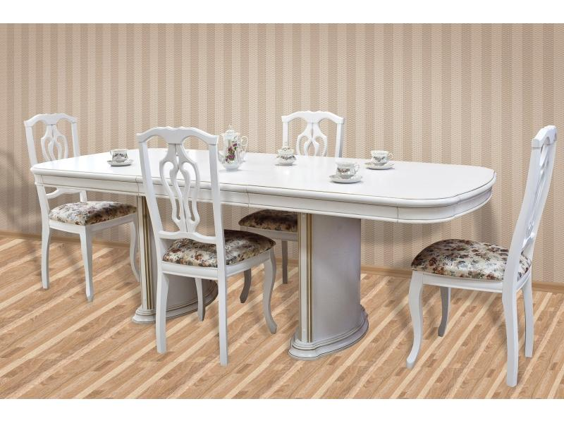 Стол обеденный НМ-1700 (белый)