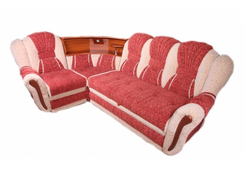 Угловой диван Престиж с баром
