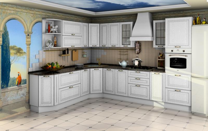 Кухня МДФ (модульная система)