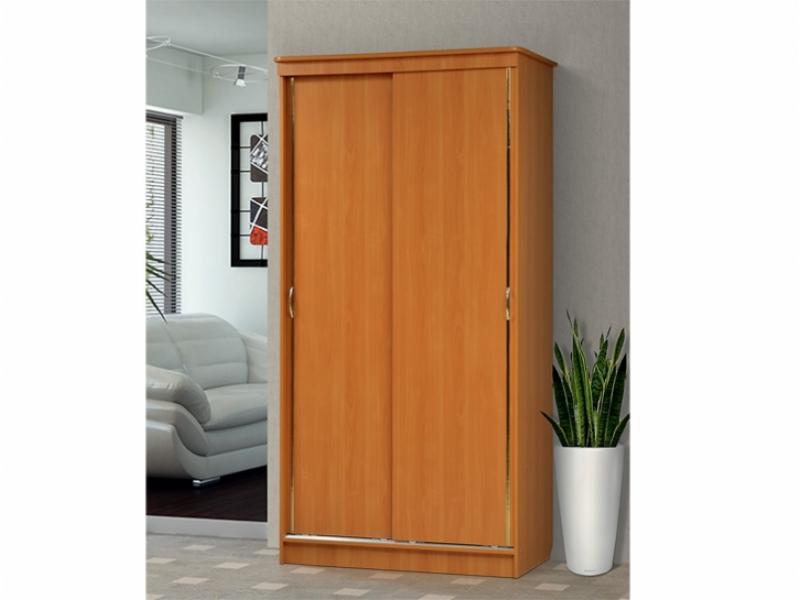 Шкаф – купе для платья и белья 2-х дверный