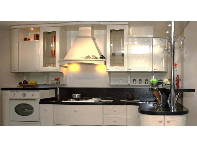 Кухонный гарнитур прямой Марселла