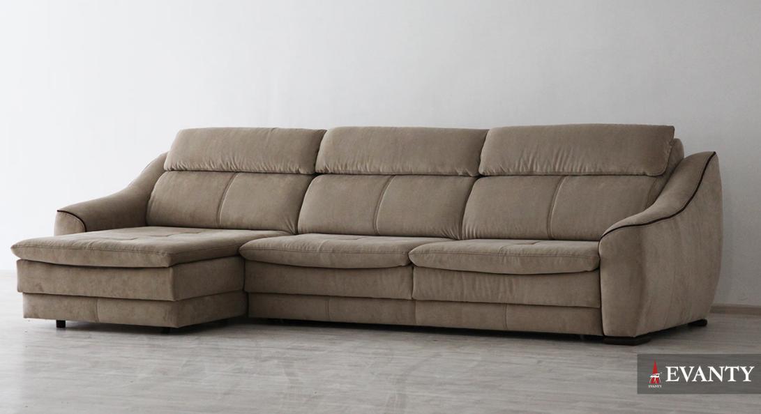 Большой угловой диван Bruno угловой