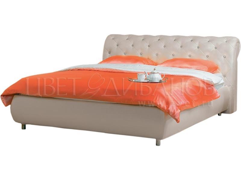 Кровать Брисбен со стразами