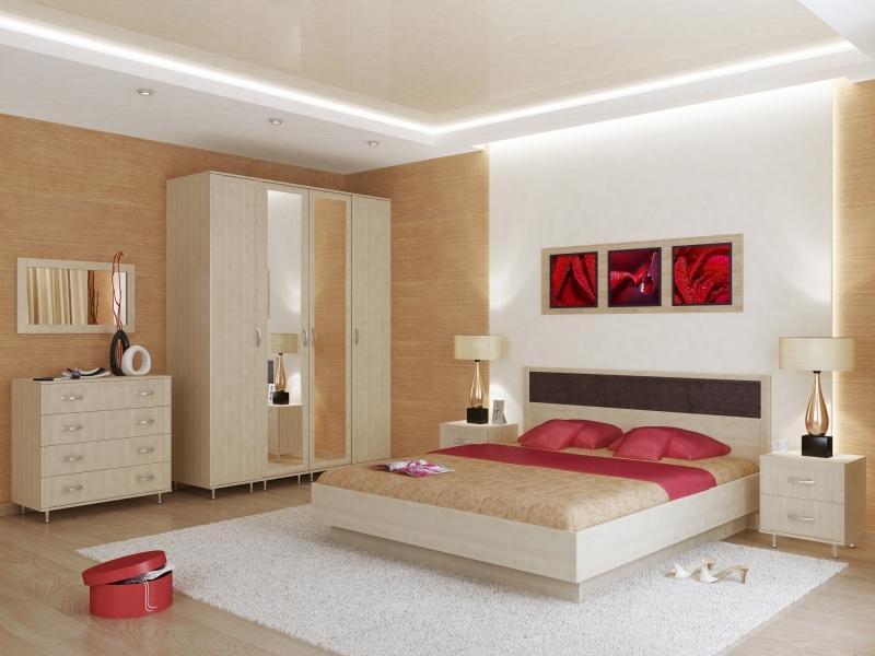 Спальный гарнитур Стрим 1