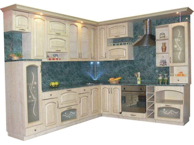 кухня угловая Золушка Ретро 5, (клен)