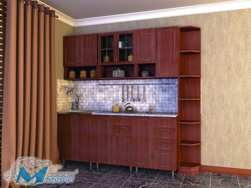 кухня прямая «Глория 2»