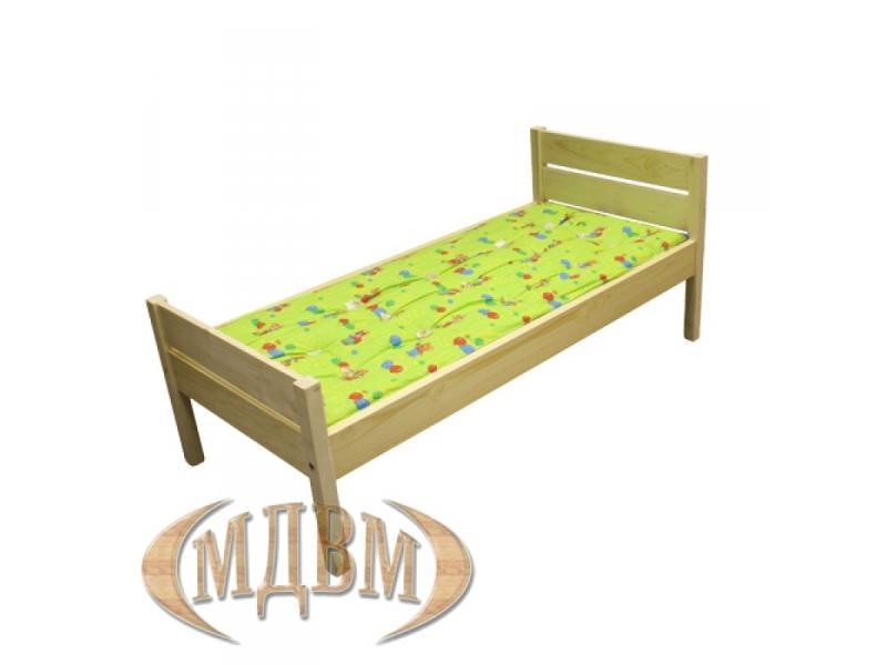 Кровать детская прямая спинка