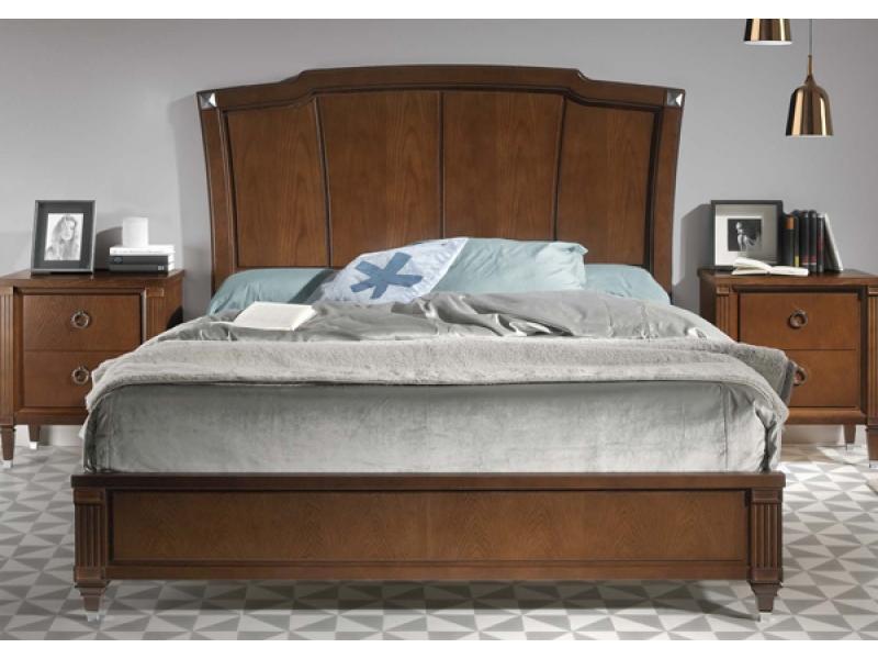 Кровать изголовье с панелью