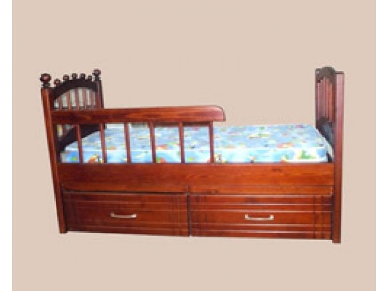 Кровать детская солнышко с ящиками