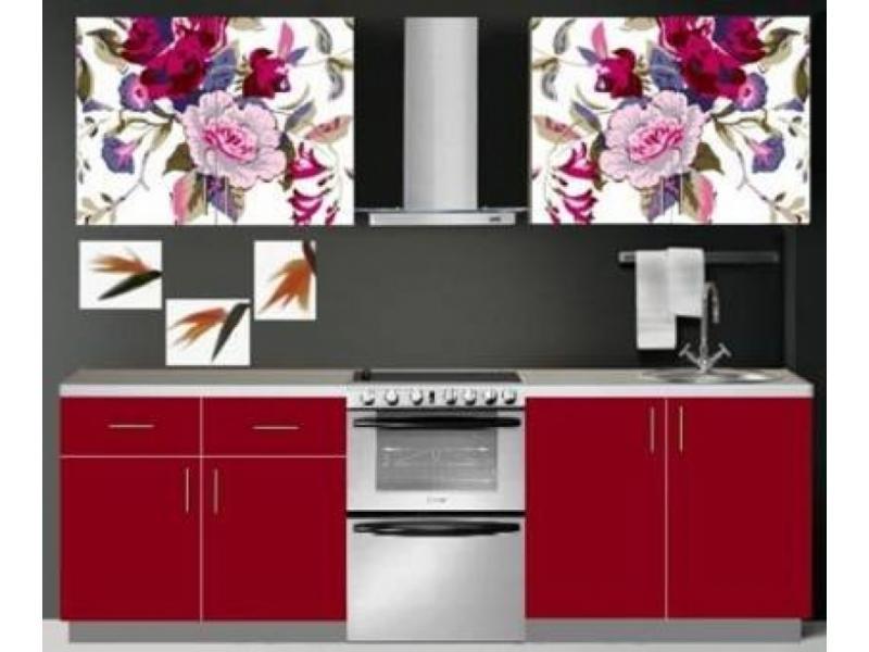 Кухня Орхидея-20 фотопечать