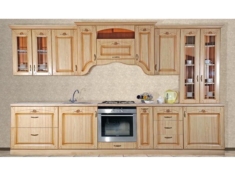 Кухонный гарнитур прямой Сабрина