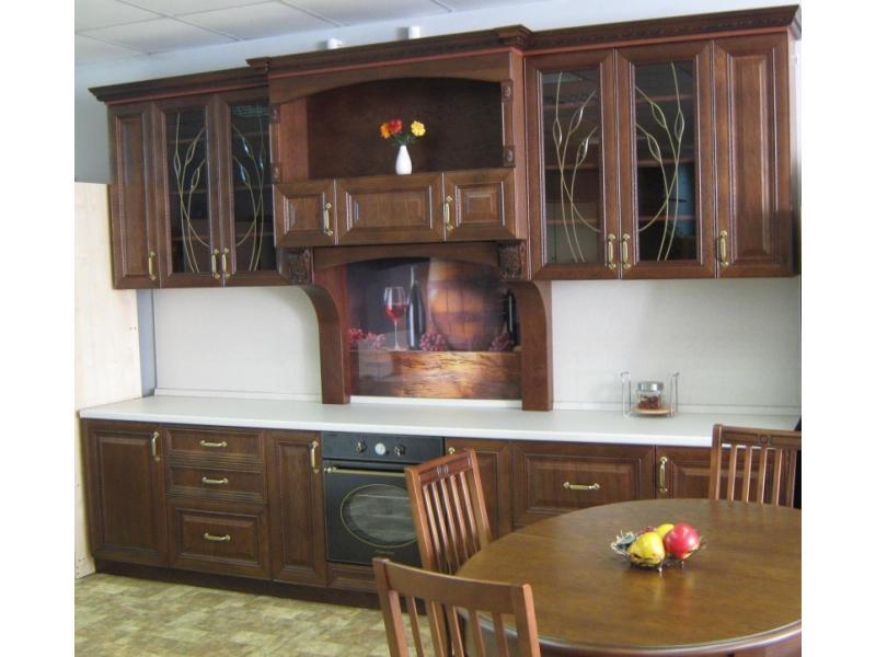 кухня прямая Констанция (дуб)