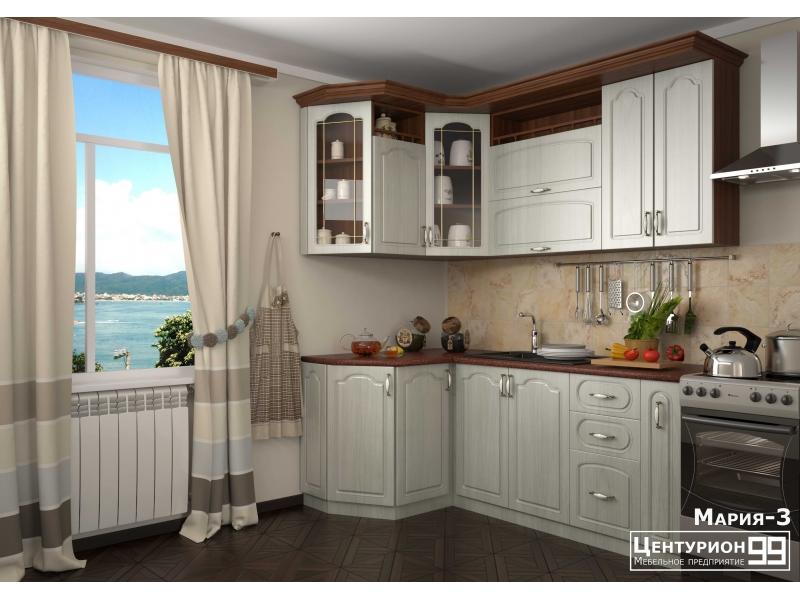 Кухонный гарнитур угловой Мария-3