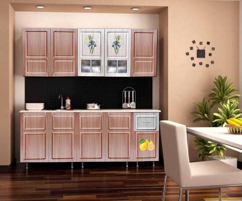 Кухонный гарнитур 1 ясень-шимо