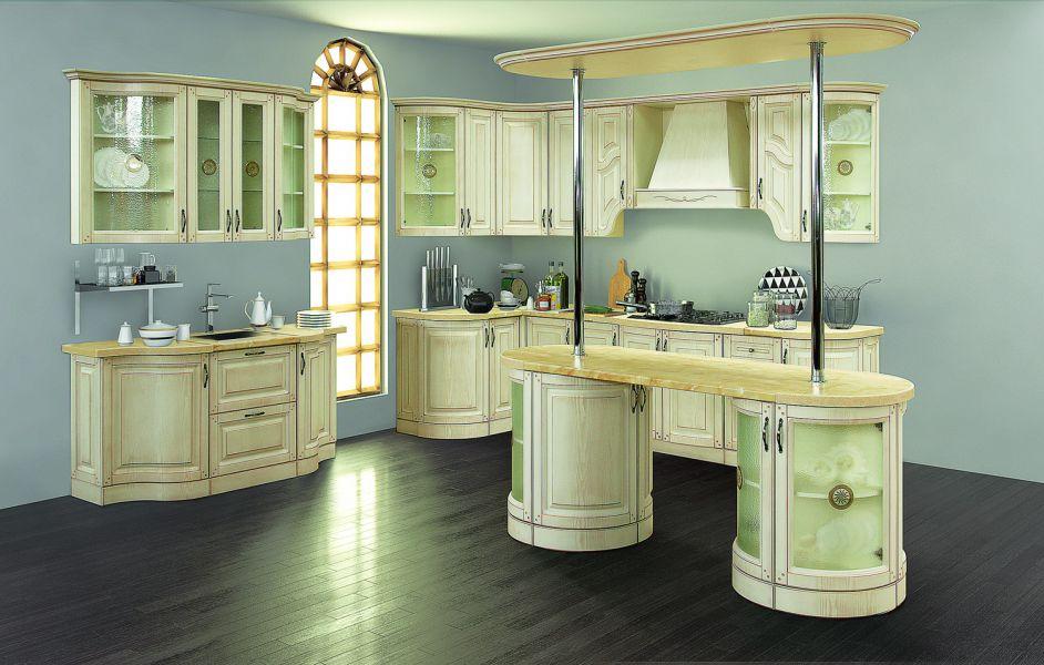 Модульная Кухня Нова 3 Ваниль