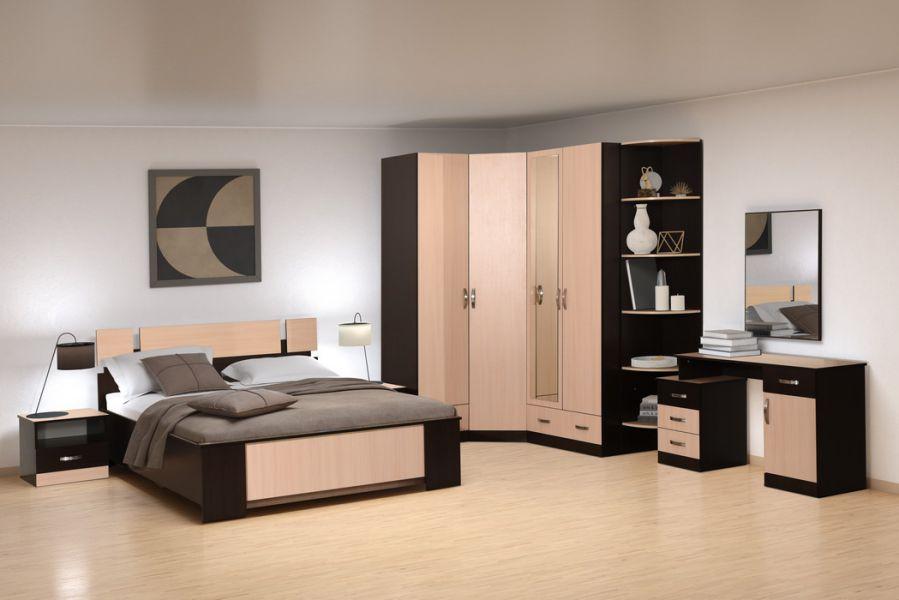 Модульная Спальня Пиксель 2