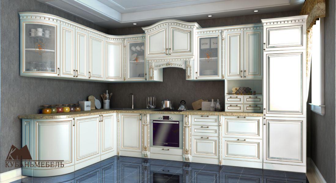 Модульная угловая кухня Деметра