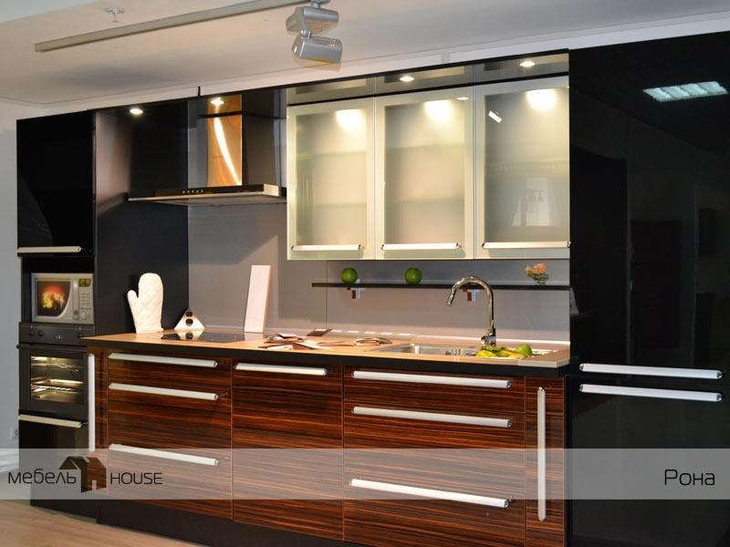 Кухонный гарнитур прямой Рона