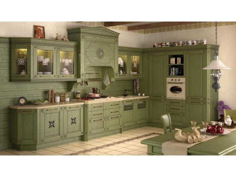 Кухня Вилладжио массив