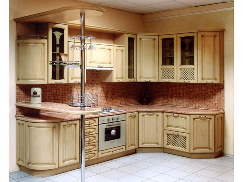 Кухня Афина массив