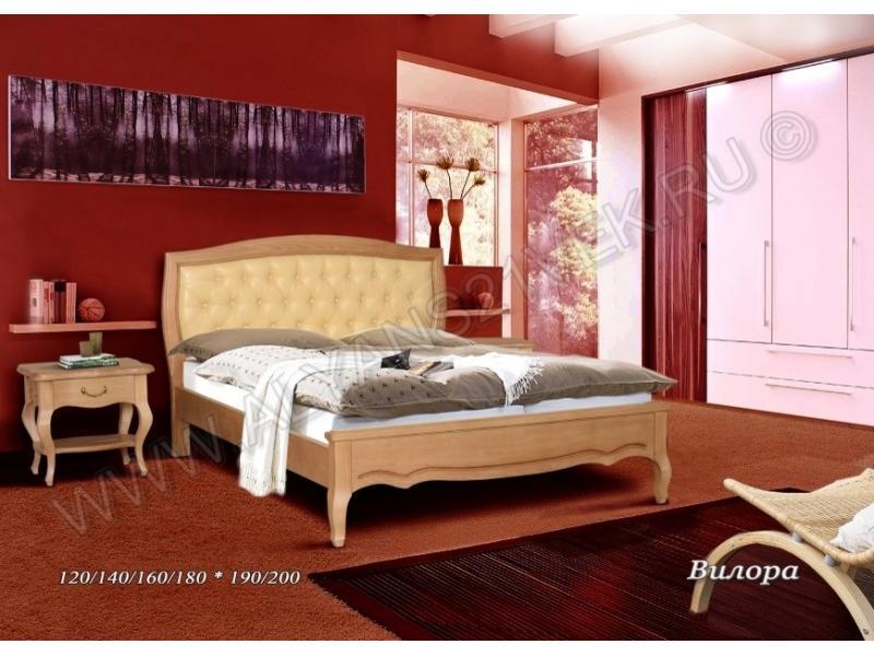 Кровать из дерева Вилора